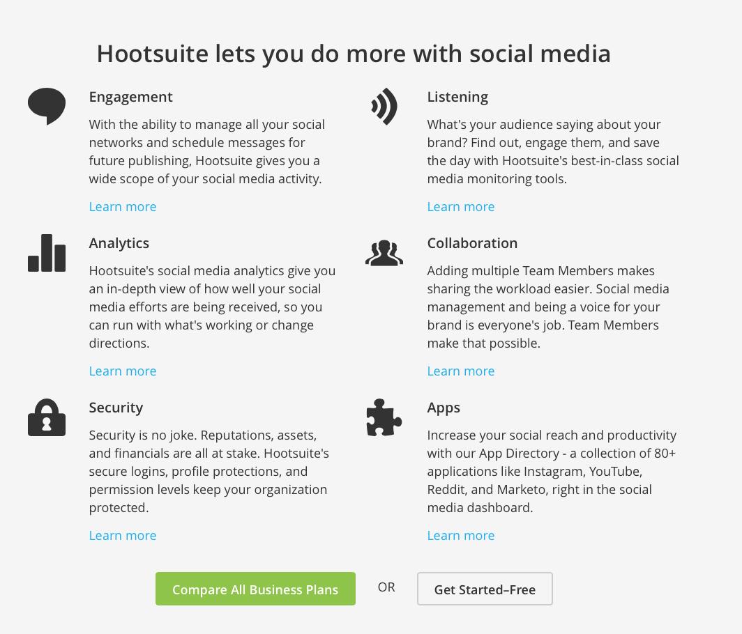 Hootsuite - Hackastory Tools