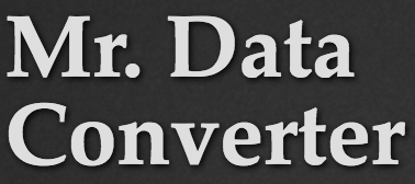 Mr. Dataconverter